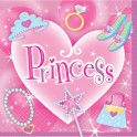 Serviettes Party Princesses