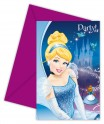 Cartons d'invitation Cendrillon