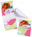 Cartons d'invitation Cheval