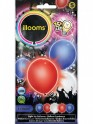 5 ballons LED Tricolores