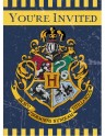 Cartons d'invitation Harry Potter