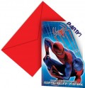 Cartons d'invitation Spiderman