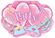 Cartons d'invitation Party Princesses